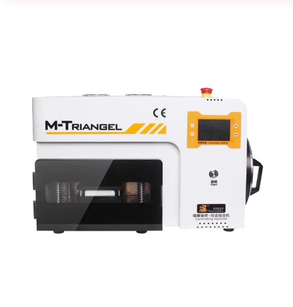MT-17S M-Triangel Curved Screen OCA Vacuum Laminating and Bubble Removing Machine For LCD Screen Repairing With 5 Set Edge Molds