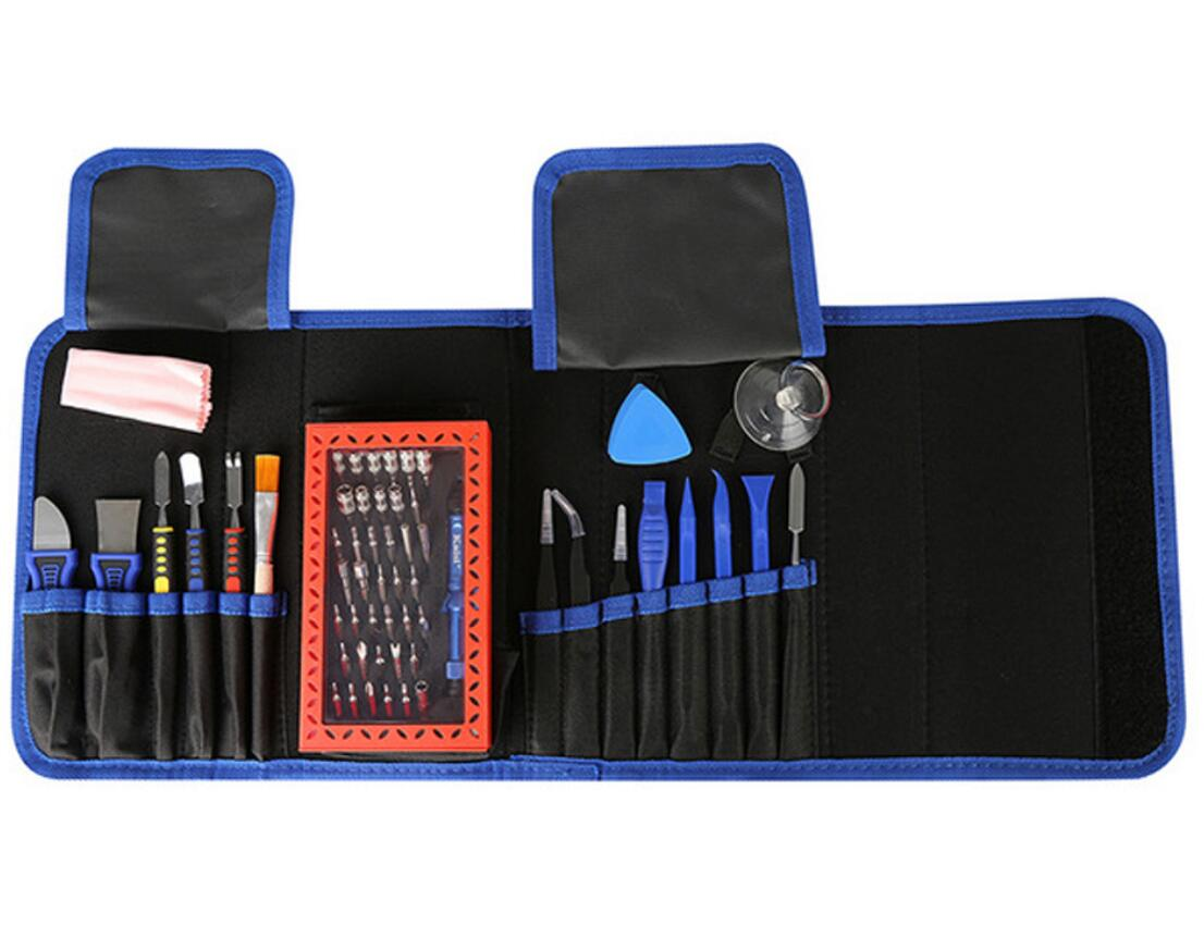 K-1766 63 in 1 Magnetic Precision Electronics Screwdriver set Hand Tools For Phone Repair Tool Kit