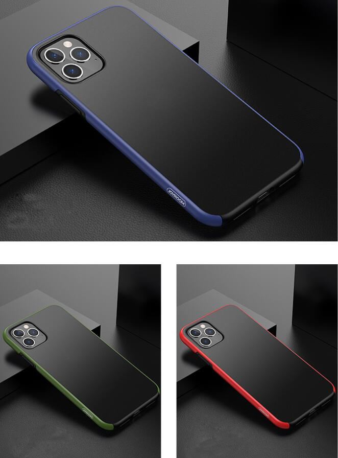 Joyroom PC+TPU+Fuel Injection Process Material Double Anti-Collision Protection Scrub Protective Case For 11/11 Pro/11 Pro Max