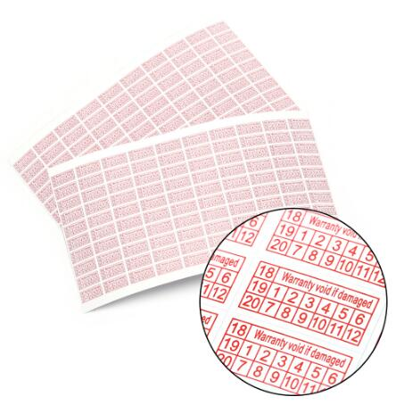 10000PCS Warranty Void Sticker Protection Security Seal Sticker hologram Label(10mmx20mm)