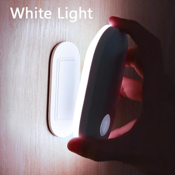 Baseus Magnetic Night Light Human Body Induction Night Light Led Lamp Rechargeable Body Automatic Induction Lamp Wall Light
