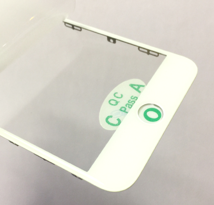 OR Quality Front Glass Lens With Frame+OCA Sticker For Iphone 6S Plus 5.5