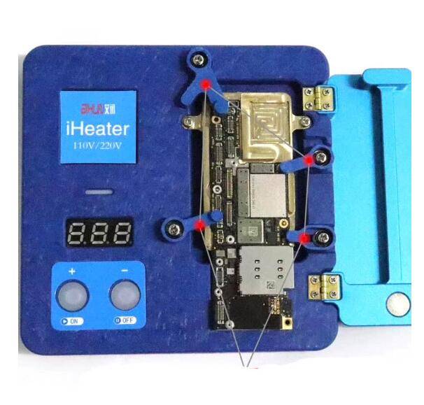 iHeater Intelligent desoldering Rework station For iPhone 11/11Pro/11 Max /X /XS/ XS Max motherboard layered Heating Platform